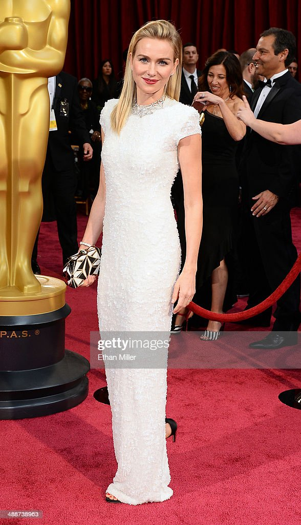 Actress Naomi Watts attends the Oscars held at Hollywood & Highland Center on March 2, 2014 in Hollywood, California.