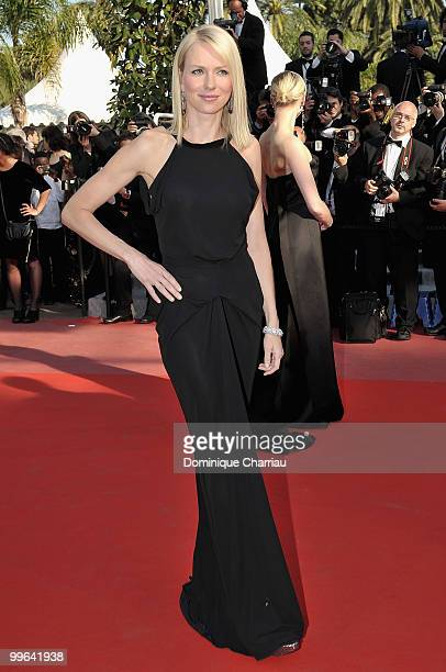Actress Naomi Watts attends the premiere of 'Biutiful' held at the Palais des Festivals during the 63rd Annual International Cannes Film Festival on...