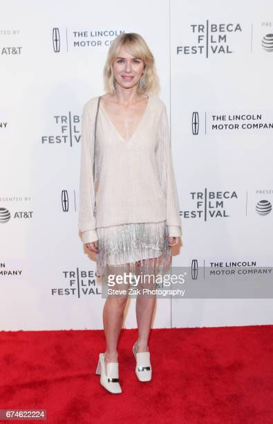 Actress Naomi Watts attends the screening of 'Chuck' during 2017 Tribeca Film Festival at BMCC Tribeca PAC on April 28 2017 in New York City
