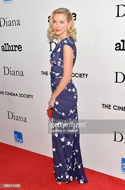 Actress Naomi Watts attends the screening of Entertainment One's 'Diana' hosted by The Cinema Society With Linda Wells and Allure Magazine at SVA...