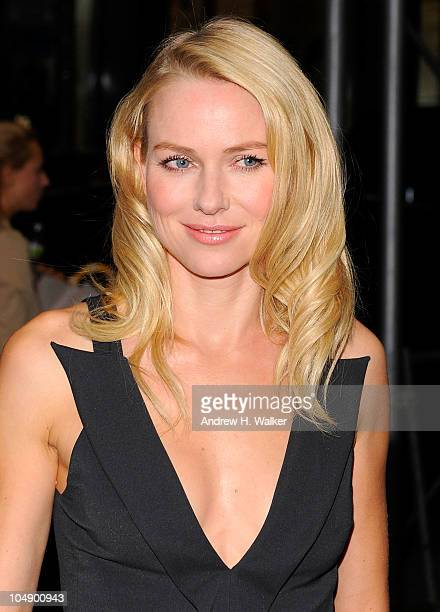"""Actress Naomi Watts attends the screening of """"Fair Game"""" hosted by Giorgio Armani & The Cinema Society at The Museum of Modern Art on October 6, 2010..."""