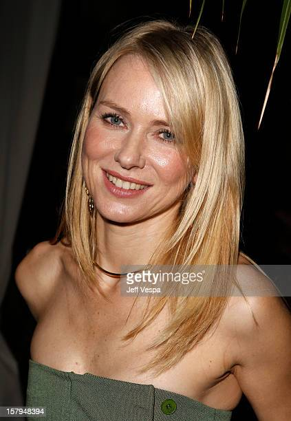 Actress Naomi Watts attends the SILVER LININGS PLAYBOOK Event Hosted By Lexus And Purity Vodka at Chateau Marmont on December 7 2012 in Los Angeles...