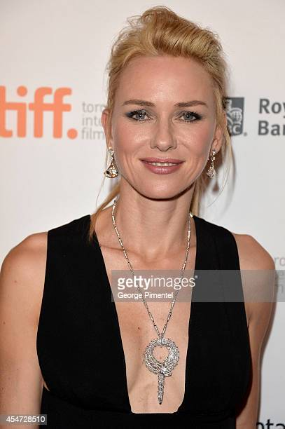 Actress Naomi Watts attends the St Vincent premiere during the 2014 Toronto International Film Festival at Princess of Wales Theatre on September 5...