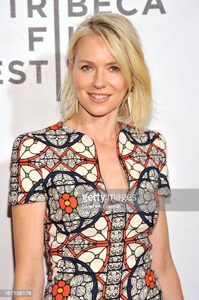 Actress Naomi Watts attends the Sunlight Jr World Premiere during the 2013 Tribeca Film Festival on April 20 2013 in New York City