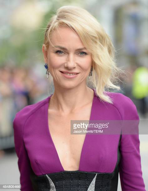 Actress Naomi Watts attends the 'While We're Young' premiere during the 2014 Toronto International Film Festival at Princess of Wales Theatre on...