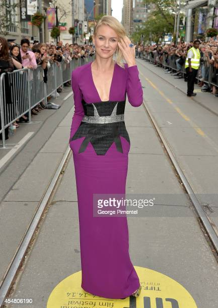 "Actress Naomi Watts attends the ""While We're Young"" premiere during the 2014 Toronto International Film Festival at Princess of Wales Theatre on..."