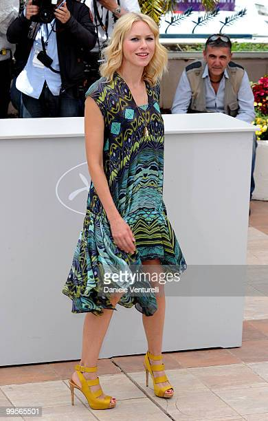 Actress Naomi Watts attends the 'You Will Meet A Tall Dark Stranger' Photocall held at the Palais des Festivals during the 63rd Annual International...