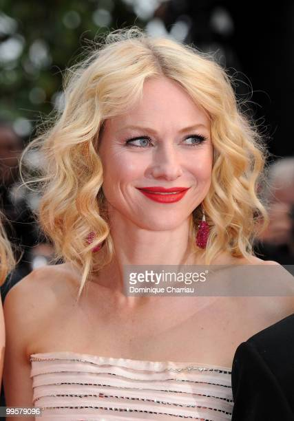 Actress Naomi Watts attends the 'You Will Meet A Tall Dark Stranger' Premiere held at the Palais des Festivals during the 63rd Annual International...