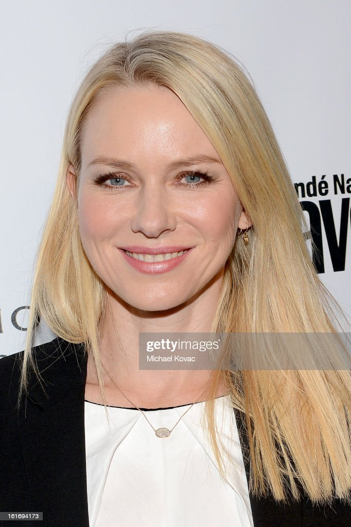 Actress Naomi Watts joins Conde Nast Traveler as they celebrate The Leading Hotels Of The World 85th Anniversary at Mr. C Beverly Hills on February 13, 2013 in Beverly Hills, California.