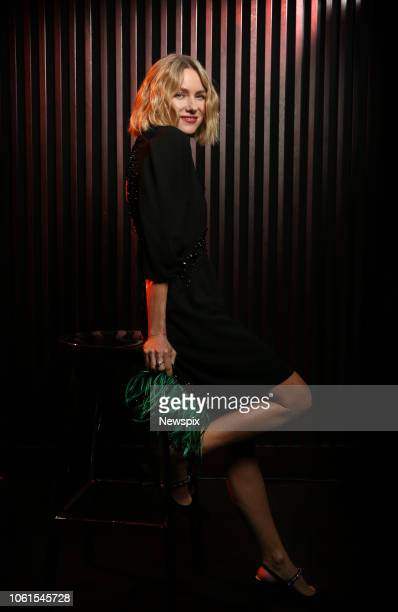 SYDNEY NSW Actress Naomi Watts poses backstage at the 2018 GQ Men of the Year Awards at The Star in Sydney New South Wales