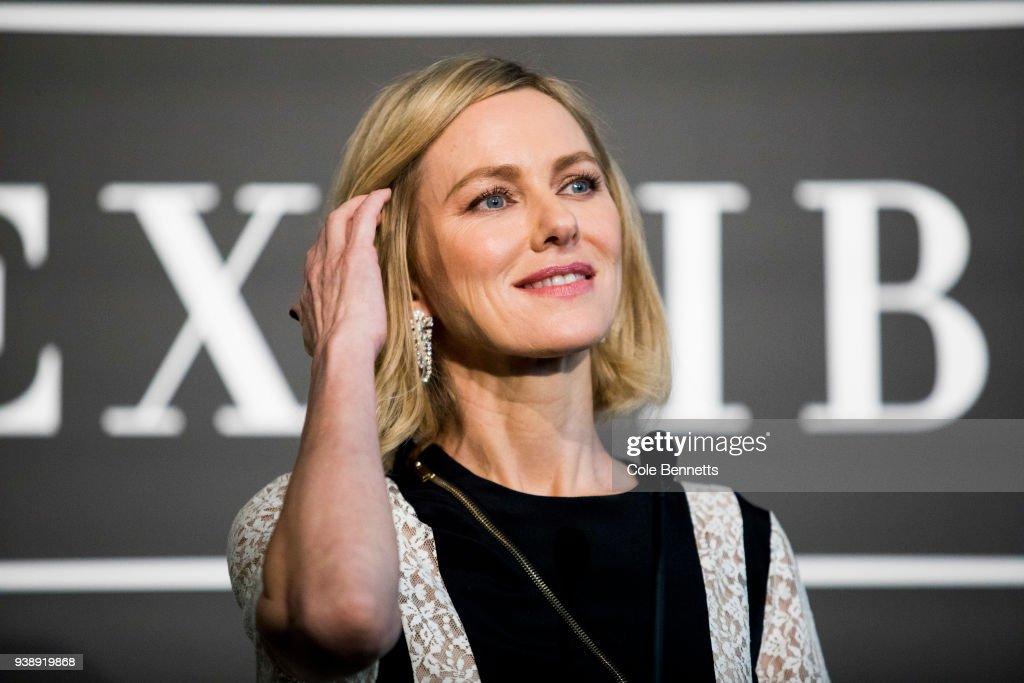 Actress Naomi Watts speaks at the Cartier: The Exhibition Media Preview at the National Gallery of Australia on March 28, 2018 in Canberra, Australia.