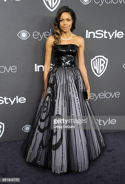 Actress Naomie Harris arrives at the 18th Annual PostGolden Globes Party hosted by Warner Bros Pictures and InStyle at The Beverly Hilton Hotel on...