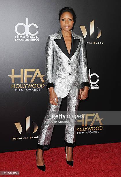 Actress Naomie Harris arrives at the 20th Annual Hollywood Film Awards at the Beverly Hilton Hotel on November 6 2016 in Los Angeles California
