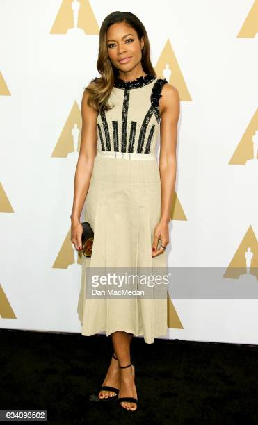 Actress Naomie Harris arrives at the 89th Annual Academy Awards Nominee Luncheon at The Beverly Hilton Hotel on February 6 2017 in Beverly Hills...