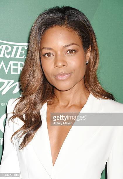Actress Naomie Harris arrives at the Variety's Power Of Women Luncheon 2016 at the Beverly Wilshire Four Seasons Hotel on October 14 2016 in Beverly...