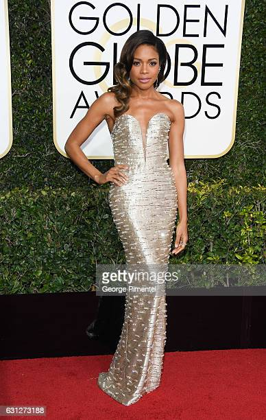 Actress Naomie Harris attends 74th Annual Golden Globe Awards held at The Beverly Hilton Hotel on January 8 2017 in Beverly Hills California
