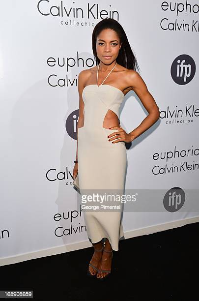 Actress Naomie Harris attends a party hosted by Calvin Klein and IFP to celebrate women in film at The 66th Annual Cannes Film Festival>> at L'Ecrin...