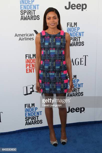 Actress Naomie Harris attends the 2017 Film Independent Spirit Awards on February 25 2017 in Santa Monica California