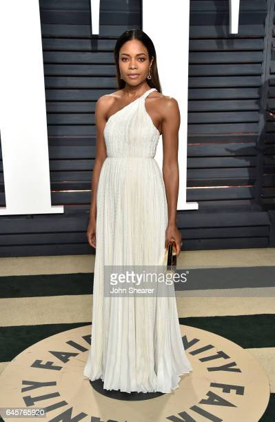 Actress Naomie Harris attends the 2017 Vanity Fair Oscar Party hosted by Graydon Carter at Wallis Annenberg Center for the Performing Arts on...