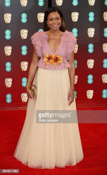 Actress Naomie Harris attends the 70th EE British Academy Film Awards at Royal Albert Hall on February 12 2017 in London England