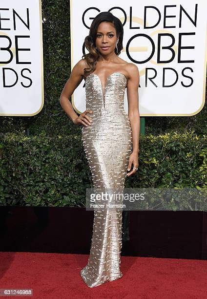 Actress Naomie Harris attends the 74th Annual Golden Globe Awards at The Beverly Hilton Hotel on January 8 2017 in Beverly Hills California