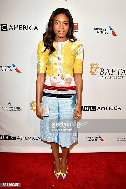 Actress Naomie Harris attends The BAFTA Tea Party at Four Seasons Hotel Los Angeles at Beverly Hills on January 7 2017 in Los Angeles California