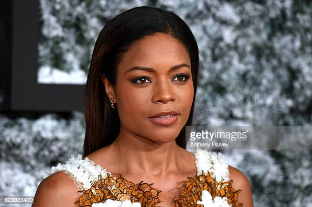 Actress Naomie Harris attends the European Premiere of 'Collateral Beauty' at Vue Leicester Square on December 15 2016 in London England