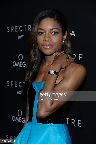 Actress Naomie Harris attends the Omega 'Spectre' screening on November 4 2015 in New York City