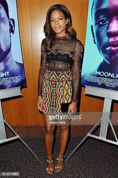Actress Naomie Harris attends the Premiere of A24's 'Moonlight' at DGA Theater on October 13 2016 in Los Angeles California