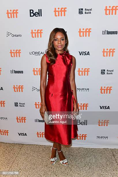 Actress Naomie Harris attends the premiere of 'Moonlight' during the 2016 Toronto International Film Festival at Winter Garden Theatre on September...