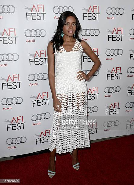 Actress Naomie Harris attends the premiere of The Weinstein Company's Mandela Long Walk To Freedom during AFI FEST 2013 presented by Audi at the...