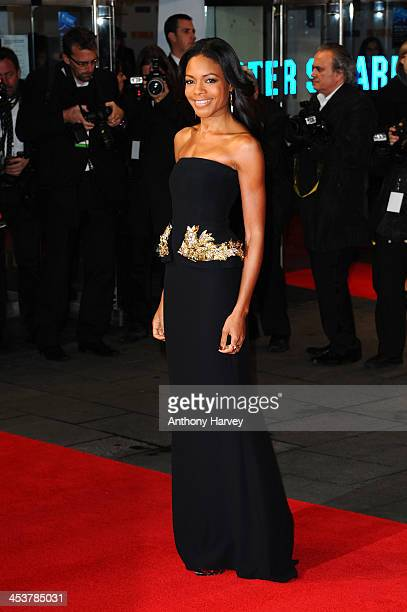 """Actress Naomie Harris attends the Royal film performance of """"Mandela: Long Walk to Freedom"""" on December 5, 2013 in London, United Kingdom."""