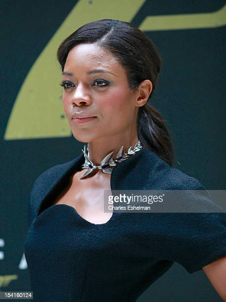 """Actress Naomie Harris attends the """"Skyfall"""" cast photo call at Crosby Street Hotel on October 15, 2012 in New York City."""