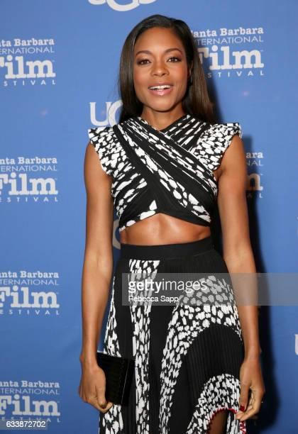 Actress Naomie Harris attends the Virtuosos Award presented by UGG during the 32nd Santa Barbara International Film Festival at the Arlington Theatre...