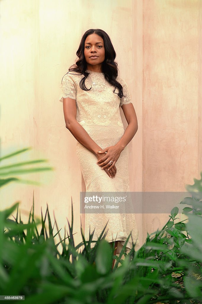 Actress Naomie Harris during a portrait session at the 10th Annual Dubai International Film Festival held at the Madinat Jumeriah Complex on December 12, 2013 in Dubai, United Arab Emirates.
