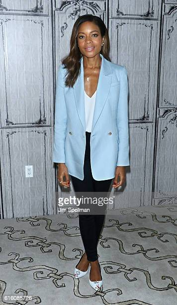 Actress Naomie Harris of Moonlight attends The Build Series at AOL HQ on October 21 2016 in New York City