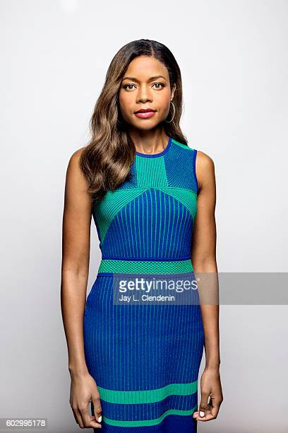 Actress Naomie Harris of 'Moonlight' poses for a portraits at the Toronto International Film Festival for Los Angeles Times on September 10 2016 in...