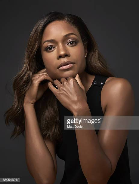 Actress Naomie Harris poses for Back Stage Magazine on October 4 in New York City PUBLISHED IMAGE