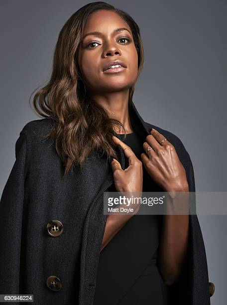 Actress Naomie Harris poses for Back Stage Magazine on October 4 in New York City