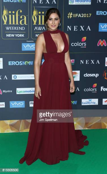 Actress Nargis Fakhri attends the 2017 International Indian Film Academy Festival at MetLife Stadium on July 14 2017 in East Rutherford New Jersey