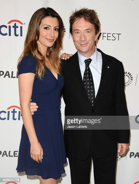 Actress Nasim Pedrad and actor Martin Short attend the Fox preview panel at the 2014 PaleyFest Fall TV preview at the Paley Center for Media on...