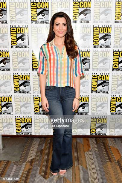 """Actress Nasim Pedrad at the """"People Of Earth"""" Press Line during Comic-Con International 2017 at Hilton Bayfront on July 21, 2017 in San Diego,..."""