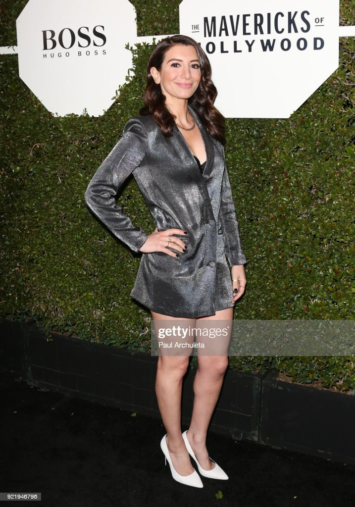 Actress Nasim Pedrad attends Esquire's annual 'Maverick's Of Hollywood' event at Sunset Tower on February 20, 2018 in Los Angeles, California.
