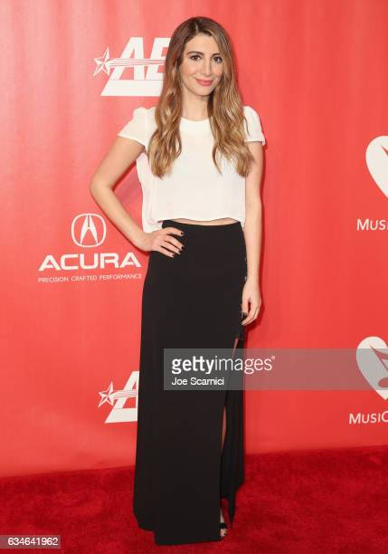Actress Nasim Pedrad attends MusiCares Person of the Year honoring Tom Petty at the Los Angeles Convention Center on February 10, 2017 in Los...