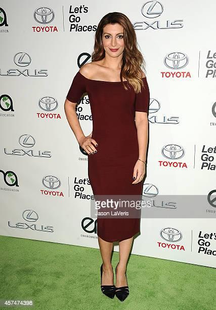 Actress Nasim Pedrad attends the 2014 Environmental Media Awards at Warner Bros. Studios on October 18, 2014 in Burbank, California.