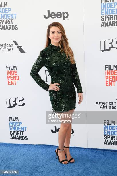 Actress Nasim Pedrad attends the 2017 Film Independent Spirit Awards on February 25 2017 in Santa Monica California