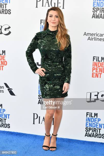 Actress Nasim Pedrad attends the 2017 Film Independent Spirit Awards on February 25, 2017 in Santa Monica, California.