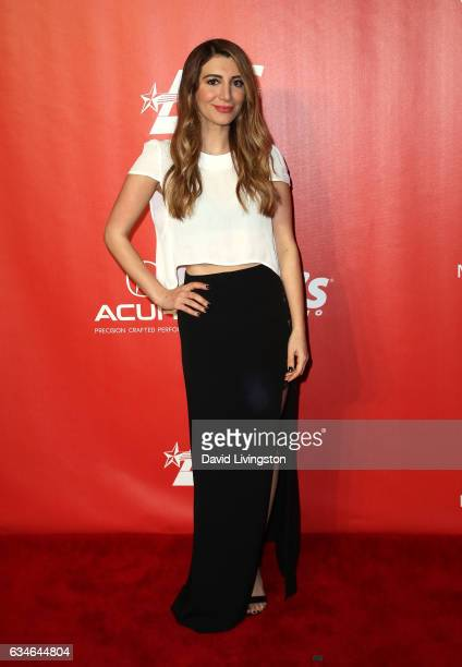 Actress Nasim Pedrad attends the 2017 MusiCares Person of the Year honoring Tom Petty on February 10 2017 in Los Angeles California