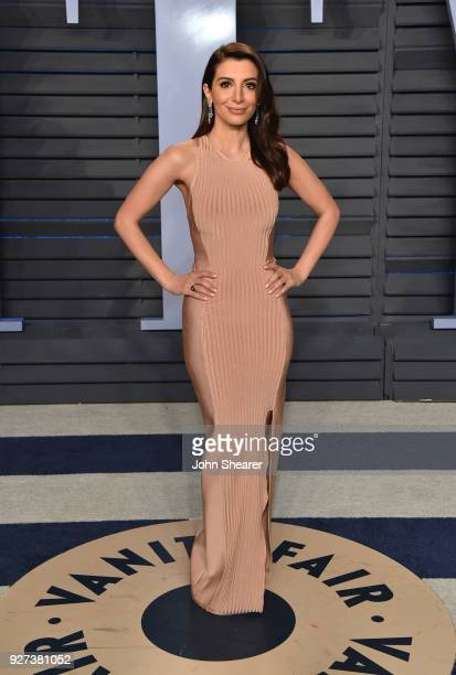 Actress Nasim Pedrad attends the 2018 Vanity Fair Oscar Party hosted by Radhika Jones at Wallis Annenberg Center for the Performing Arts on March 4...