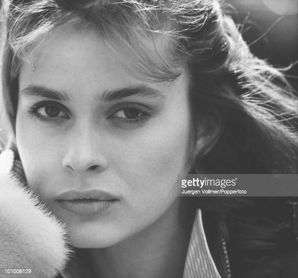 Actress Nastassia Kinski on the set of the film 'Unfaithfully Yours' 1983